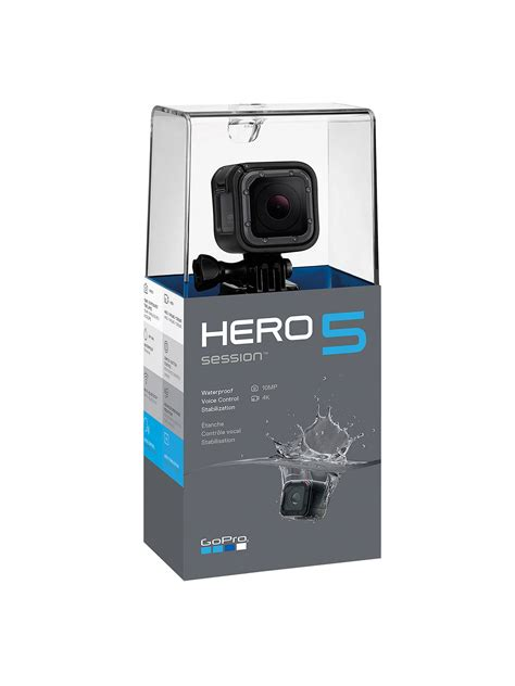 gopro hero session camcorder  ultra hd mp wi fi waterproof  john lewis partners