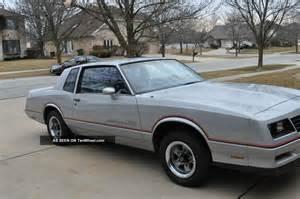 1985 Chevrolet Monte Carlo Ss 1985 Chevrolet Monte Carlo Ss Coupe 2 Door 5 0l