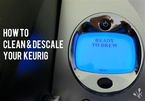 (GUIDE) How To Clean And Descale A Keurig   KitchenSanity