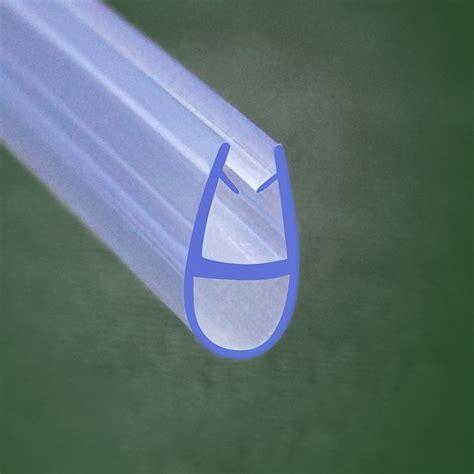6mm Shower Door Seal Bath Shower Screen Door Seal For 4mm 6mm Glass A618 Ebay