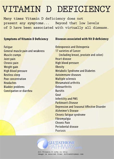 vitamin deficiency health benefits of vitamin d glutathione pathway