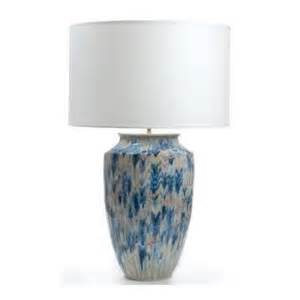 th80l blue white vase shaped l with drum shade