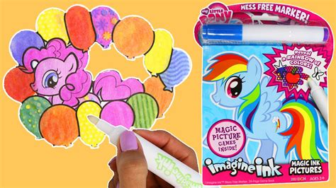 coloring book with magic marker coloring pages