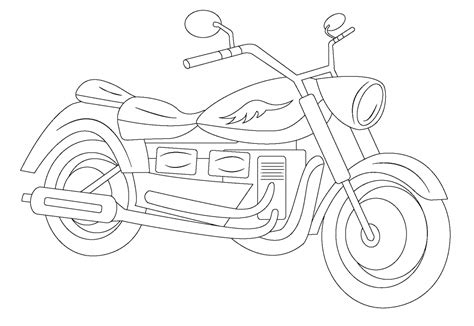 coloring pages mouse and the motorcycle motorcycle line art line drawings for digitizing
