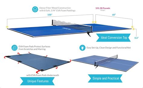 best table tennis conversion top ping pong table top the 5 best table tennis conversion
