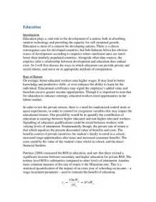 Education Conclusion Essay by Relationship Between Civil Conflict And Econ Development Sle Essay Oxbridge Notes The