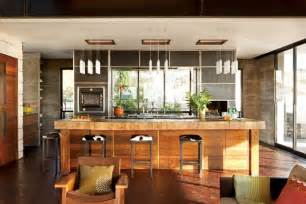 warm home interiors modern and warm kitchen interior design of the brown
