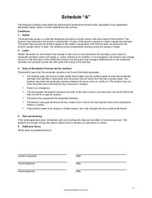 alberta lease agreement template residential lease agreement alberta free