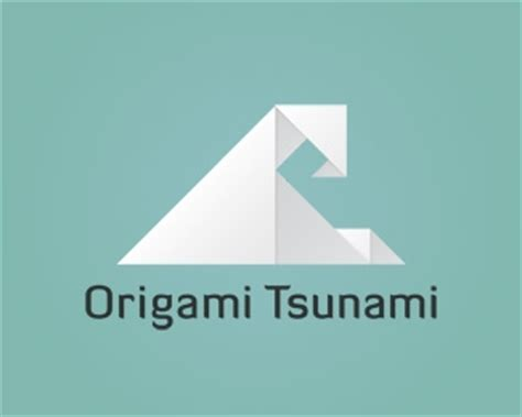 Origami Logo Design - origami tsunami designed by raygun creative brandcrowd