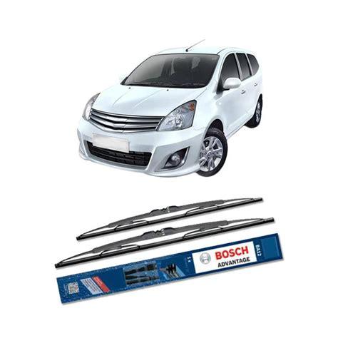 Wiper Innova Sepasang Depan Bosch Advantage jual bosch advantage wiper kaca depan mobil for nissan grand livina l10 24 dan 14 inch