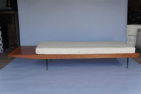 long bench cushions mid century long bench with cushion for sale at 1stdibs