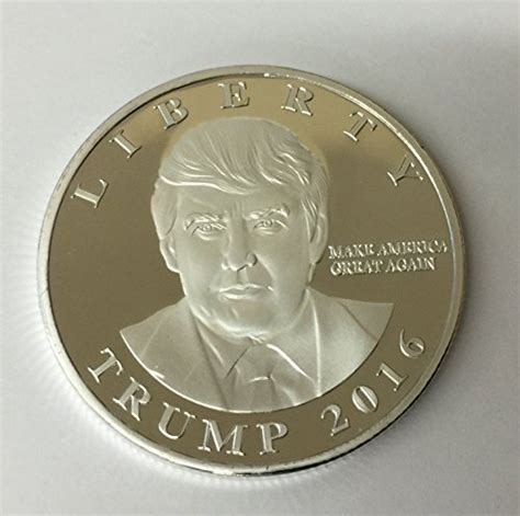 donald trump gold coin donald trump 2016 silver plated presidential liberty