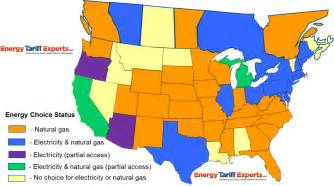 the only correct deregulated states map energy tariff