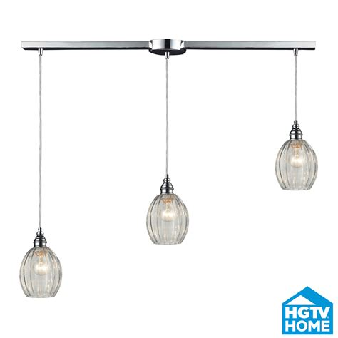 elk lighting 46017 3l danica linear multi pendant ceiling