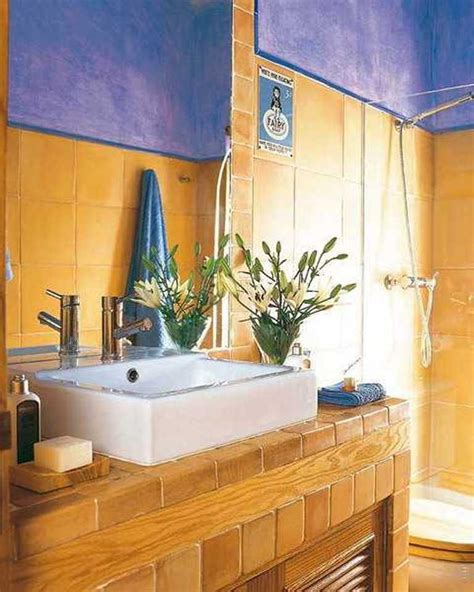 blue and yellow bathroom ideas 15 bold bathroom designs with color scheme rilane