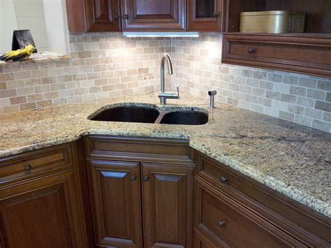 kitchen backsplash with granite countertops floor installation photos february 2012