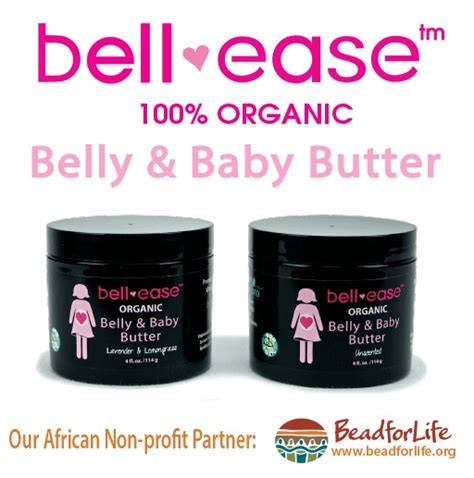 Bamboobies Bell Ease Organic Belly Baby Butter Lavender Lemongrass bell ease belly baby butter asibayi