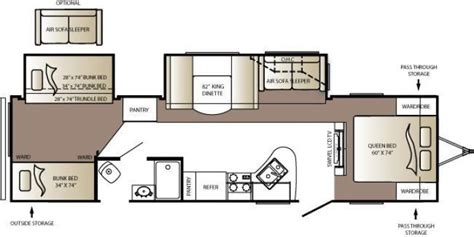 outback floor plans 2010 keystone outback 310bhs travel trailer southaven ms