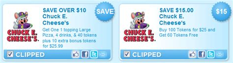 Buy Chuck E Cheese Gift Card Online - new chuck e cheese s printable coupons fabulessly frugal