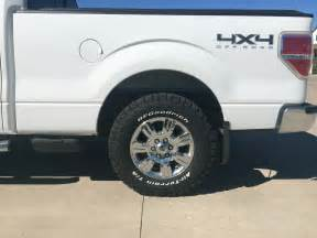 Truck Tire Fitment Guide 2015 F 150 20 Tire Size Autos Post