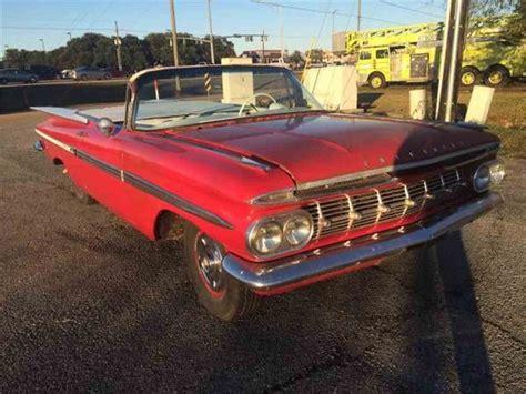 1959 chevrolet for sale 1959 chevrolet impala for sale classiccars cc 984454