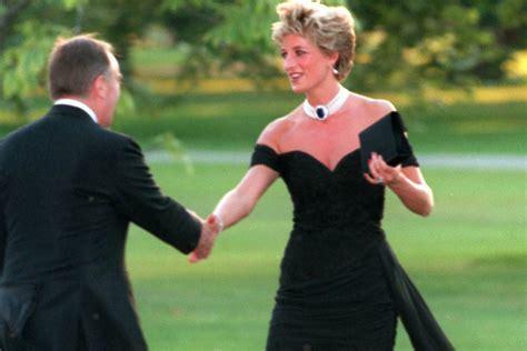 princess dianas black dress    revenge