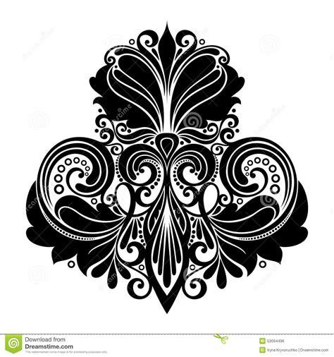 symmetrical design vector symmetrical design element stock vector image