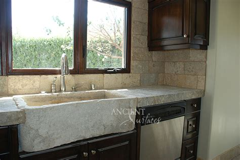Antique Kitchen Stone Trough Sinks By Ancient Surfaces Reclaimed Kitchen Sinks