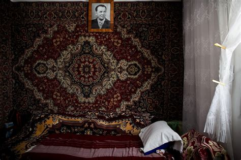 Russian rugs on walls (aka Russian Carpets) Interesting