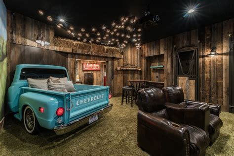 Cool Garages Pictures top 10 man caves for watching super bowl 2017