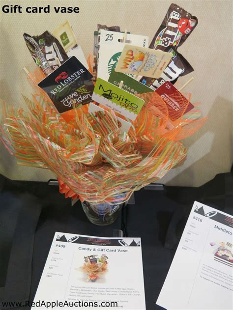 How To Display Gift Cards At A Silent Auction - 117 best images about silent auction display ideas on pinterest stadium chairs