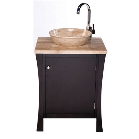 26 inch beth vanity vessel sink vanity transitional