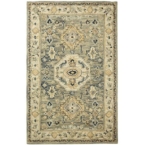 home accent rug collection home decorators collection angelo moss 2 ft x 3 ft accent rug 9963100680 the home depot