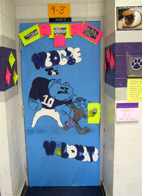 Homecoming Door Decorations by Bulldog Math On The Web Pictures By Mr Cantlin