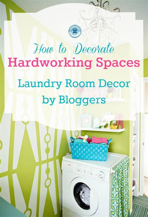 How To Decorate Your Laundry Room Great Hardworking Laundry Room Ideas