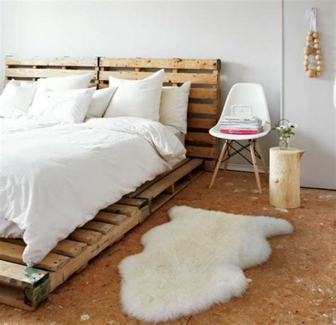 bett skandinavisch bett aus paletten im eigenen schlafzimmer inspirierende