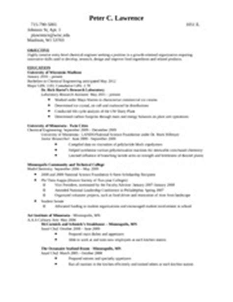 Cover Letter Zoology Exle Resume Resume Format For Msc Zoology