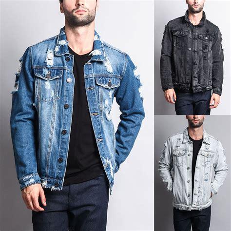 Distressed Washed Denim Jacket nwt s wash distressed denim jean jacket