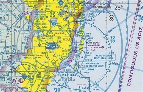 free sectional charts miami sectional chart маршрутные карты avsim su