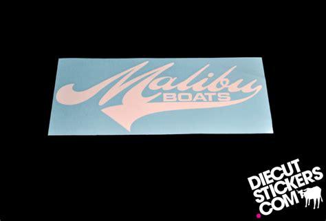 malibu boats sticker gt malibu wakeboard and water ski boats diecutstickers