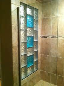 glass block bathroom ideas decorative glass block borders for a shower wall or windows