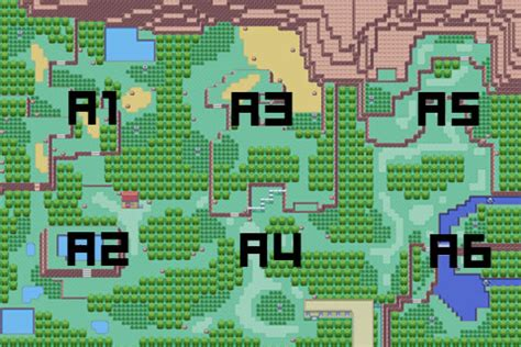 layout of safari zone in fire red emerald safari zone map pictures to pin on pinterest