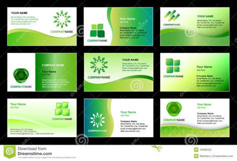 Design Card Template home design business card template design stock