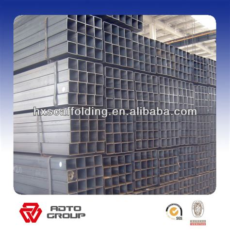 steel hollow section weight electronic galvanized rectangular tube hollow section
