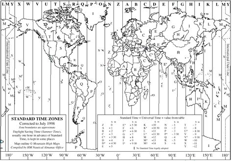 us map time zones black and white of time and time zones with the traveler in mind