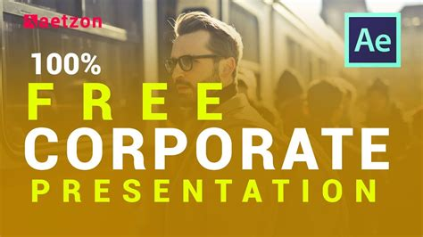 After Effects Presentation Template Free Download Corporate Presentation After Effects Template After Effects Presentation Template Free