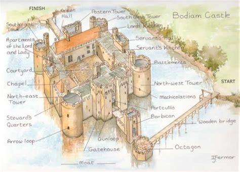 castle sections 25 best ideas about bodiam castle on pinterest east