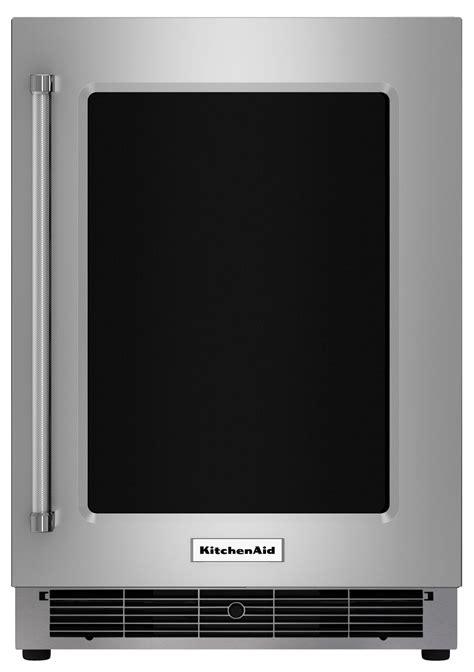 kitchenaid 5 1 cu ft mini fridge multi kurr304ess best buy