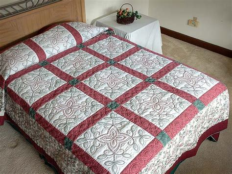 Stitch Quilts by Antique Cross Stitch Quilt Splendid Specially Made