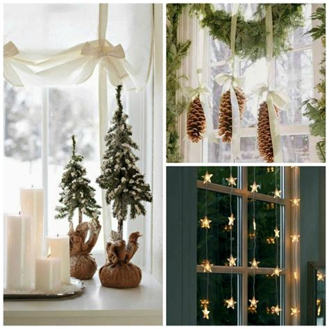 christmas window decoration ideas home window decorations for christmas beautiful discreet and